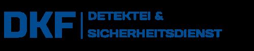 DKF – SICHERHEITSDIENST Logo